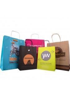 Luxury Rope Handle Biodegradable Kraft Bags