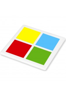 100% Recycled Square Coaster